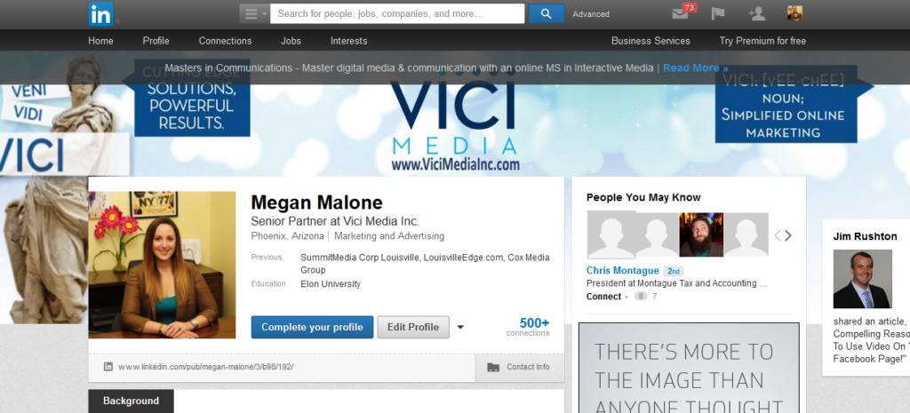 megs profile
