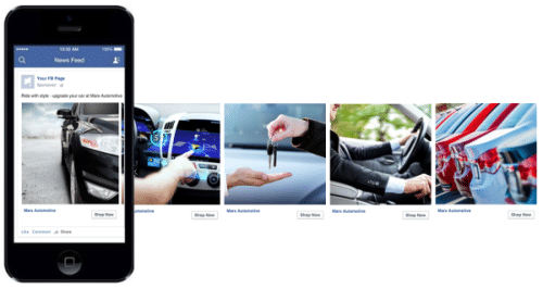 How To Use Facebook Instagram Ads For Automotive Dealers Vici Media - Facebook carousel ads template