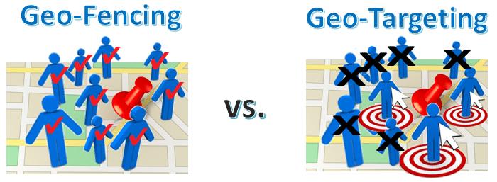geofencing vs geotargeting vici media digital marketing