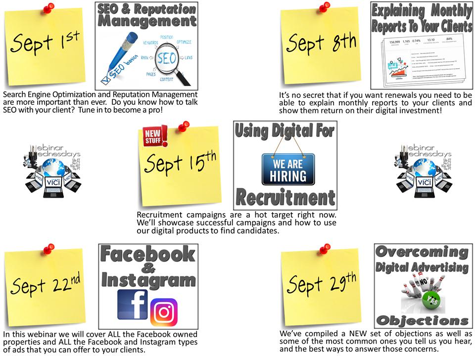 September Webinar Flyer
